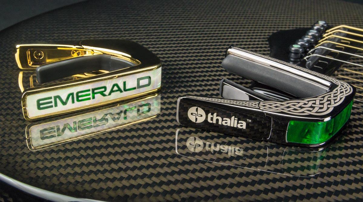 Thalia Capos- Emerald Guitars Capo